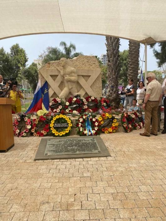9 мая 2021 года Почетный Консул Кыргызской Республики в Израиле Шкаф Д.Р. принял участие в торжественной церемонии в честь Дня Победы в г. Бат Ям