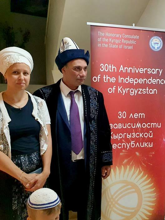 Почётный Консул на праздновании 30-летия независимости Кыргызстана