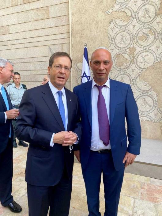 Приём у Президента Израиля в честь наступления Рош-а-Шана
